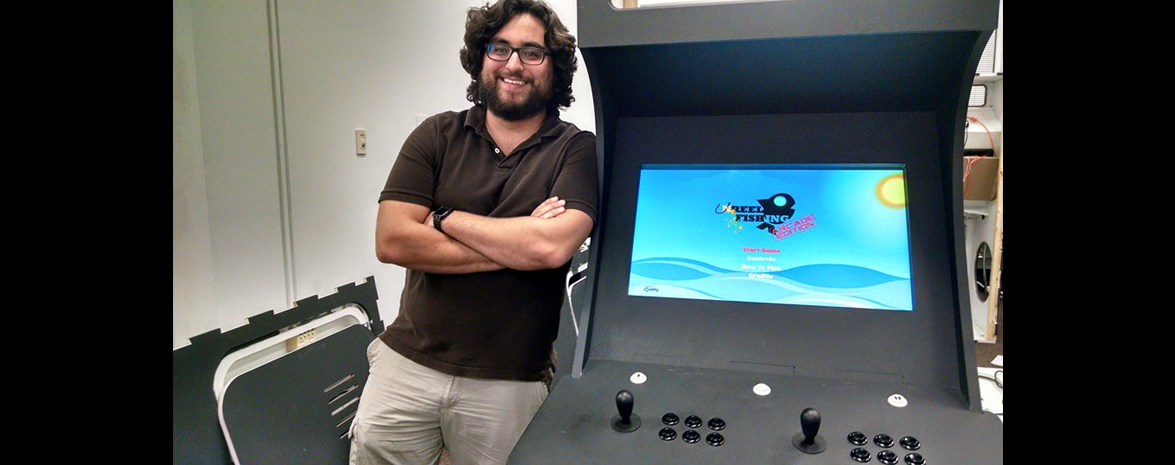 5) Unreel Fishing on SVAD Arcade Machine